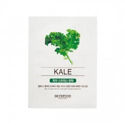 Тканевая маска с экстрактом морской капусты SKINFOOD Beauty In A Food Mask Sheet Kale