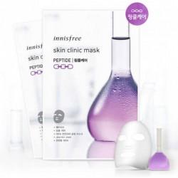 Ультратонкая маска с пептидами Innisfree Skin Clinic Mask Peptide