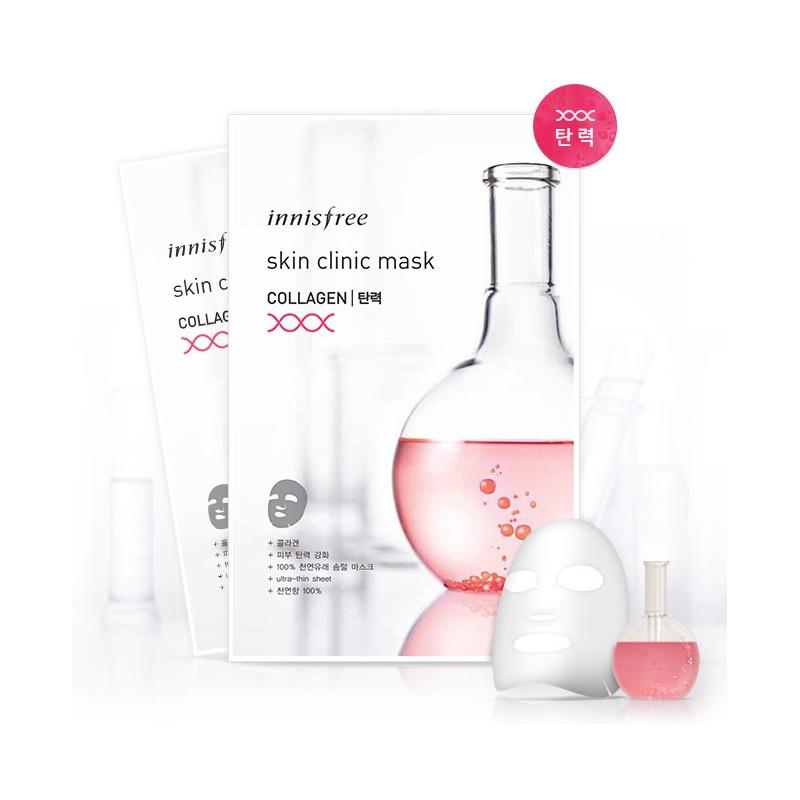Ультратонкая маска с коллагеном Innisfree Skin Clinic Mask Collagen