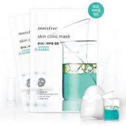 Ультратонкая маска с салициловой кислотой Innisfree Skin Clinic Mask BHA