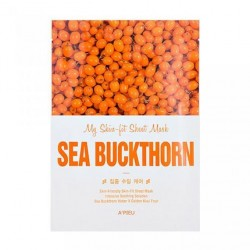 Тканевая маска c экстрактом облепихи A'PIEU My Skin-Fit Sheet Mask Sea Buckthorn