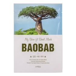Тканевая маска с экстрактом баобаба A'PIEU My Skin-Fit Sheet Mask Baobab