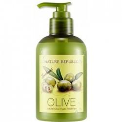 Кондиционер с маслом оливы NATURE REPUBLIC Natural Olive Hydro Treatment
