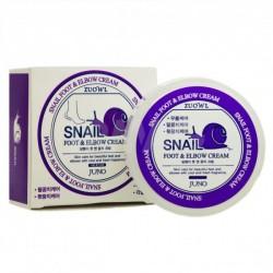 Крем для ног и локтей Juno Zuowl Foot&Elbow Cream Snail