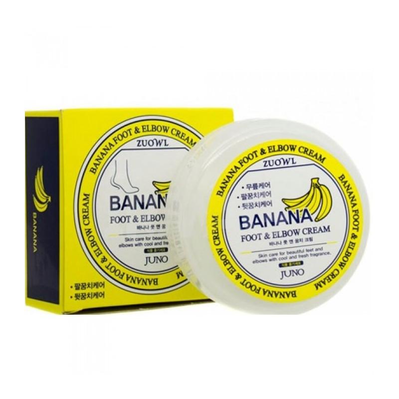 Крем Juno Zuowl Foot&Elbow Cream Banana