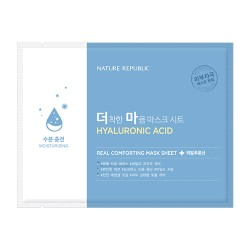 Тканевая маска NATURE REPUBLIC Real Comforting Mask Sheet Hyaluronic Acid