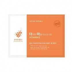Тканевая маска NATURE REPUBLIC Real Comforting Mask Sheet Vitamin E