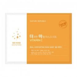 Тканевая маска NATURE REPUBLIC Real Comforting Mask Sheet Vitamin C