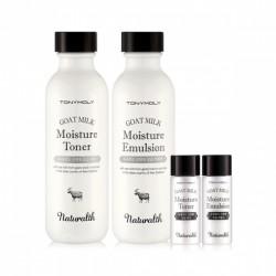Набор средств для ухода за кожей Tony Moly Naturalth Goat Milk Moisture Skin Care Set