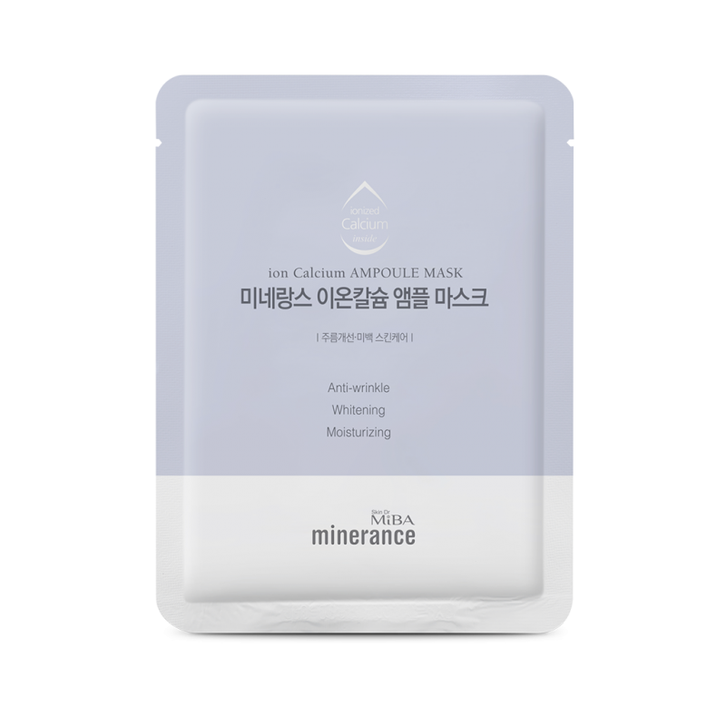 Маска MiBA MINERANCE Ion Calcium Ampoule Mask