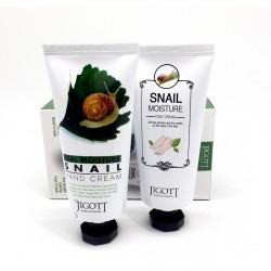 Набор с кремами для рук и ног Jigott Real Moisture Hang & Foot Cream Set