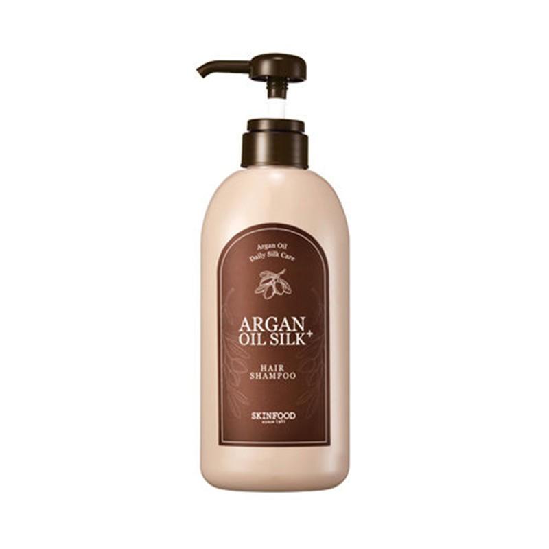Шампунь с аргановым маслом SKINFOOD Argan Oil Silk Plus Shampoo